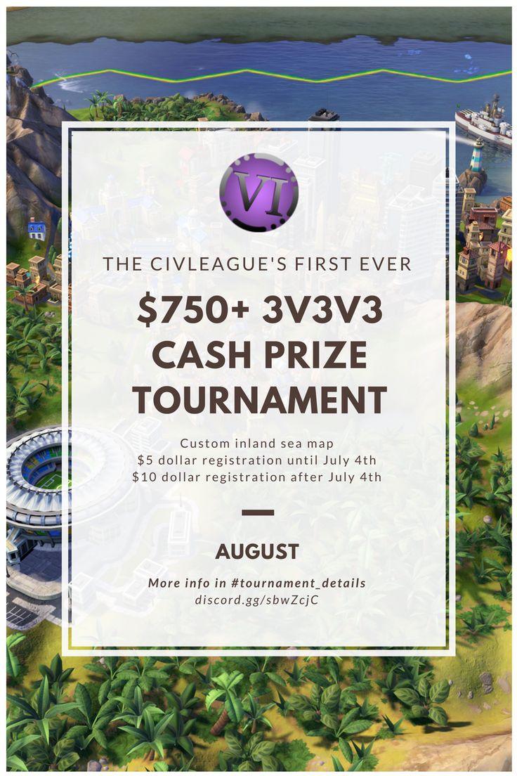 The CivLeague $750 Cash Prize Tournament #CivilizationBeyondEarth #gaming #Civilization #games #world #steam #SidMeier #RTS