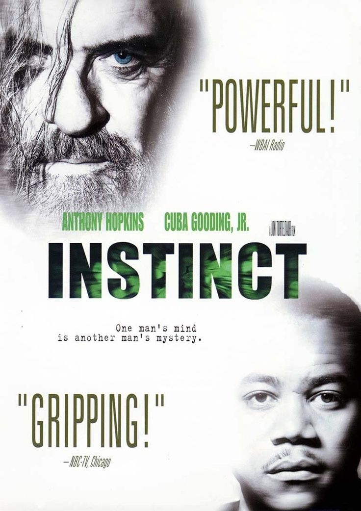 """Instinct (1999) """"Ethan Powell: We have only one thing to give up. Our dominion. We don't own the world. We're not kings yet. Not gods. Can we give that up? Too precious, all that control? Too tempting, being a god?"""""""