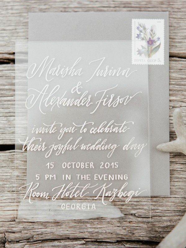 real simple unique wedding invitations%0A    Minimalist Wedding Ideas for the Cool Bride