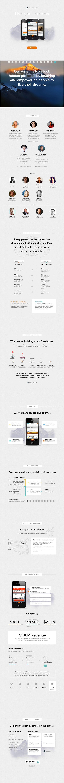 It's a pitch deck! It's a #website! It's... Everest! #storytelling