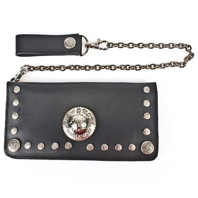New Rock gothic genuine leather metal wallet. #newrock #wallet #goth #leather  You can purchase this wallet here: http://newrockaustralia.com/index.php?id_product=18726