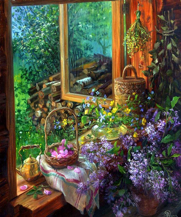Надежда - Солнечная живопись Владимира Жданова.