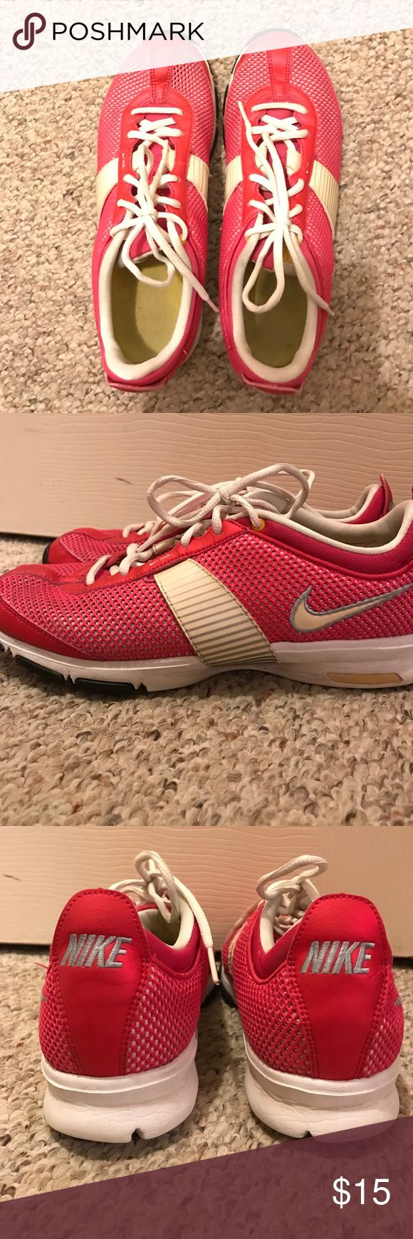Hot Pink Nike Zooms! Hot Pink Nike Zooms! Size 9.5. They are in great condition, only getting rid of because I have too many and never get to wear these! Nike Shoes Athletic Shoes