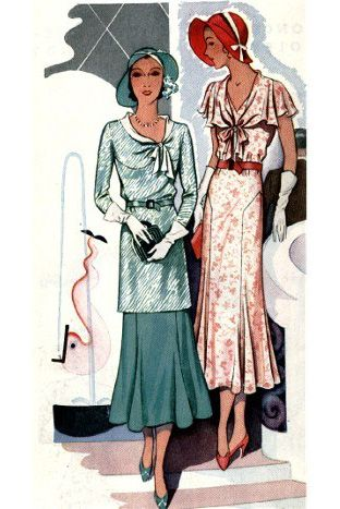 While women's fashion took a major hit with the Wall Street crash and Depression, women of the 1930s never looked anything but put together and fashionable. Description from americasbestracing.net. I searched for this on bing.com/images