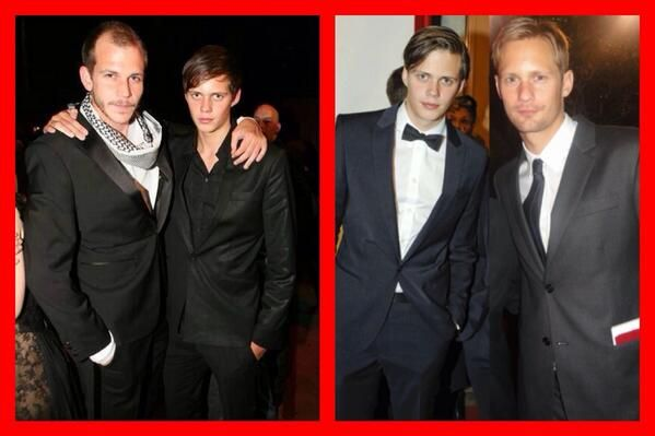 The Skarsgard Brothers Alexander Skarsgard Pinterest