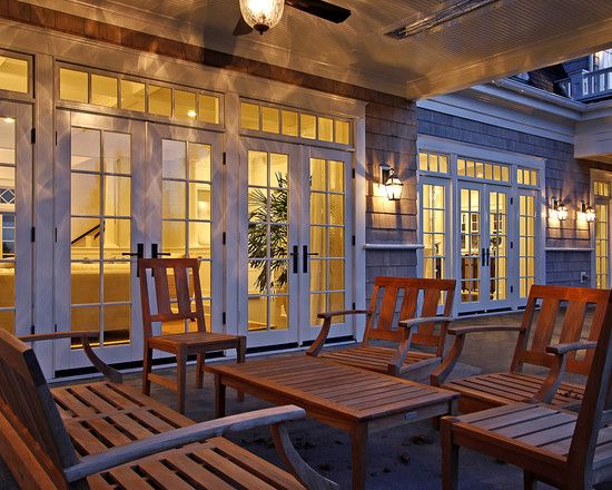 Paul Moon Design,  French Doors and typical PNW patio heaters included