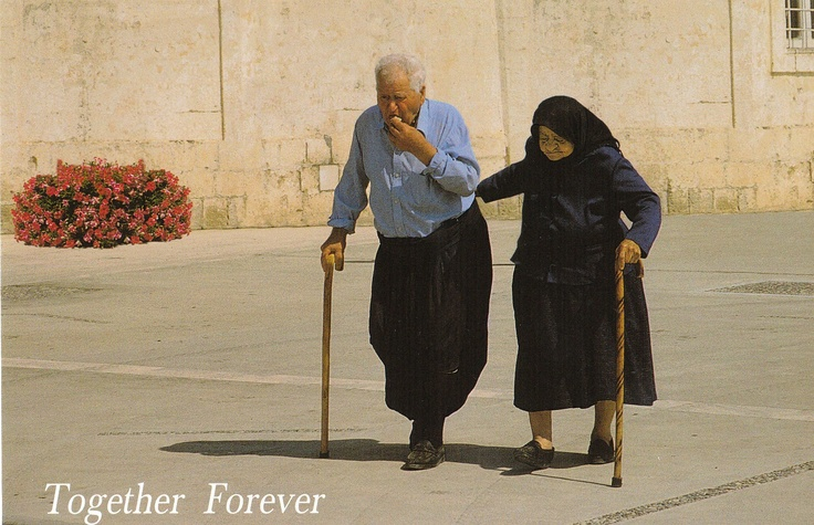Yiayia & Pappou-Lovely Greek Couple