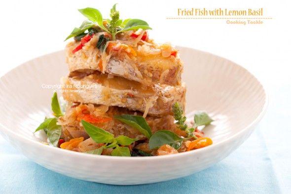 Dentice fritto con Basilico Limone [Guest post]