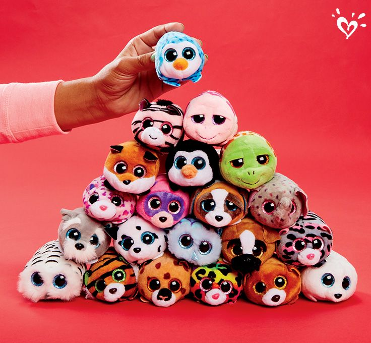 Pile on the fun with these little plush pals!