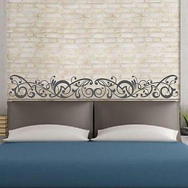 αυτοκόλλητα τοίχου αυτοκόλλητα τοίχου, ευρωπαϊκό στυλ διακοσμητικά μοτίβο PVC αυτοκόλλητα τοίχου – EUR € 24.94