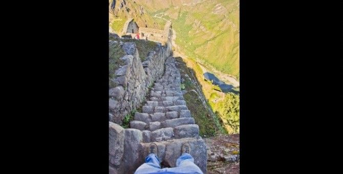 The world's scariest stairs part 05