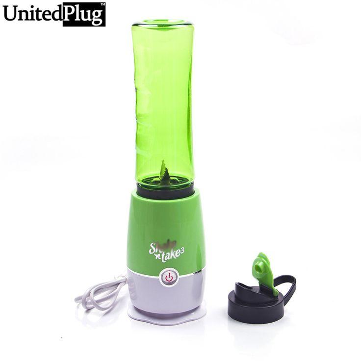 Unitedplug shake n tome mini exprimidor mezclador de la fruta portátil de viaje multifunción extractor exprimidor fabricante de batido taza de viaje vt-06