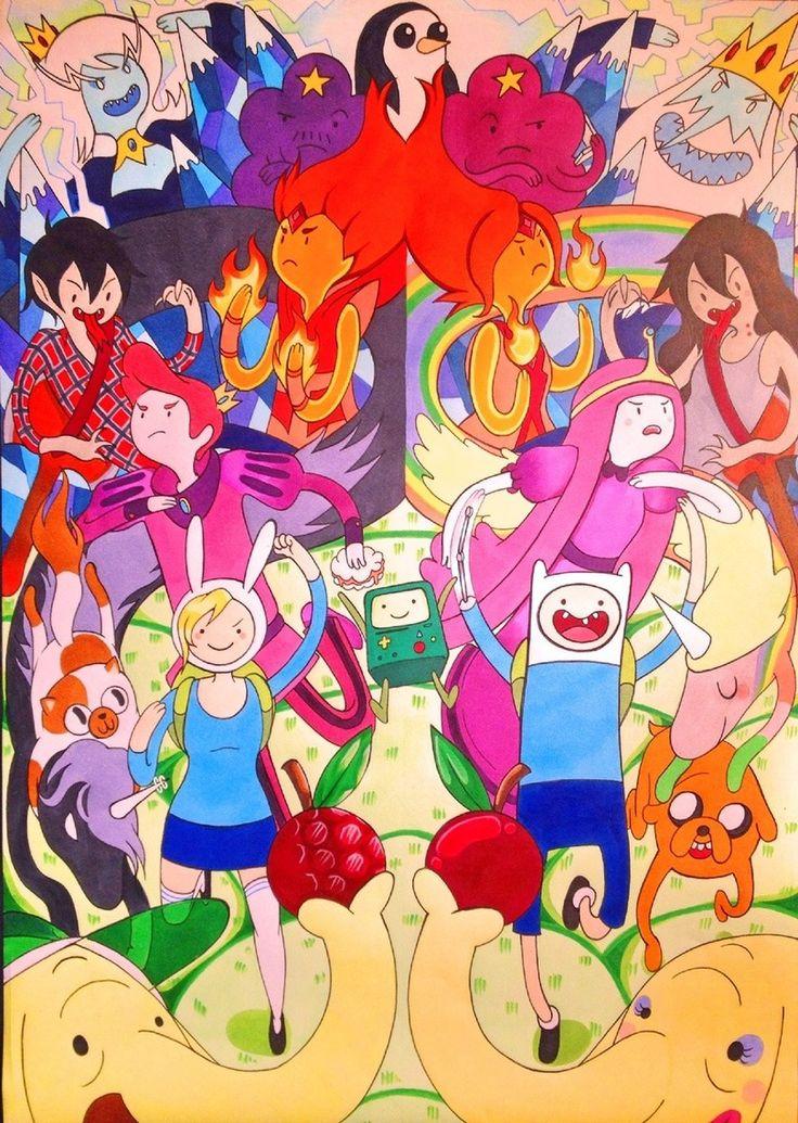 adventure time,время приключений,фэндомы,at art,Finn,Финн - парнишка, Финн, Финн парнишка,Jake,Джейк - Пес, джейк,Fionna,Фионна - Девочка, фионна,Cake,Пирожок - кошка, кейк,BMO,бимо,Ice King,ледяной король,Lady Rainicorn,Леди Ливнерог,Marceline,Марселин - Королева Вампиров,