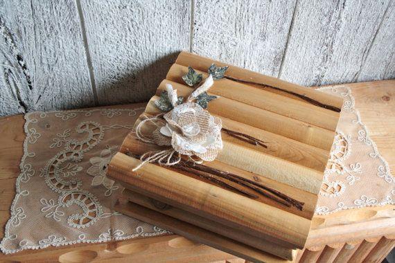 Wedding memory wooden box/Storage box/Wedding by lechoixdelamariee