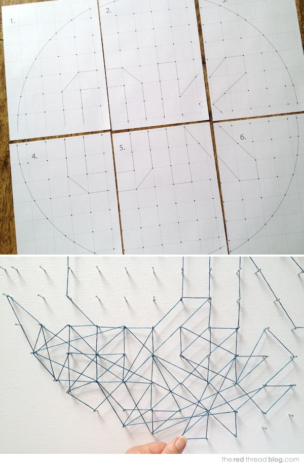 MAKE IT :: String Art Tutorial