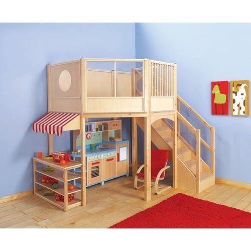 Market Loft for the girls playroom
