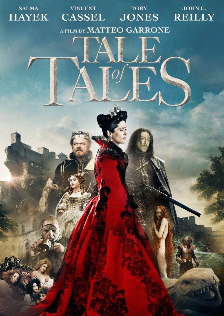Tale of Tales / Il racconto dei racconti (2015) ... Three fairy tales revolve around a king (John C. Reilly) who must slay a sea monster, a giant flea and a womanizing ruler (Vincent Cassel) who's in for a surprise. (01-Oct-2016)