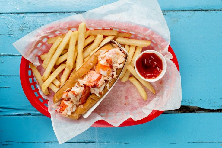 Lobster Rolls from Bob's Clam hut in Kittery, Maine. Lobster is piled on a hot dog roll. [Lobster Recipes, Lobster, Fresh Seafood, Lobster Tail] https://lobsteranywhere.com Live Maine lobster delivery direct from LobsterAnywhere. New England's mail order premium seafood company online since 1999 with ocean fresh and frozen lobster on sale for your business or special event. Guaranteed overnight shipping anywhere in USA. Orders guaranteed. #Lobster #Recipe #Seafood