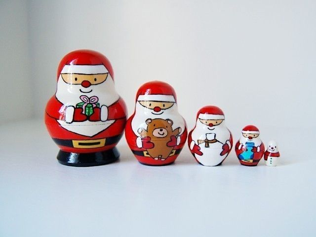 Santa Claus Nesting Doll