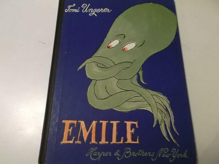Kinderbuch : TOMI UNGERER : EMILE , 1960 Harper & Brothers NY  32 S.    in Antiquitäten & Kunst, Antiquarische Bücher | eBay!
