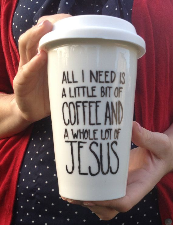 All I Need Is A Little Bit Of Coffee And A Whole by glitterandbold I.WANT.THIS