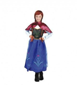 Disfraz Princesa de Hielo Ana niña infantil para Carnaval