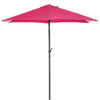 SIESTA Sonnenschirm pink Ø 3 m - Outdoor