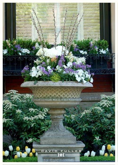 planting up your urn french inspired garden ideas pinterest urn plants and gardens. Black Bedroom Furniture Sets. Home Design Ideas