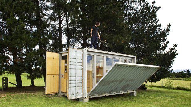 Příbytek z kontejneru – původně určeného k přepravě – může jeho majitel snadno přemísťovat Foto: