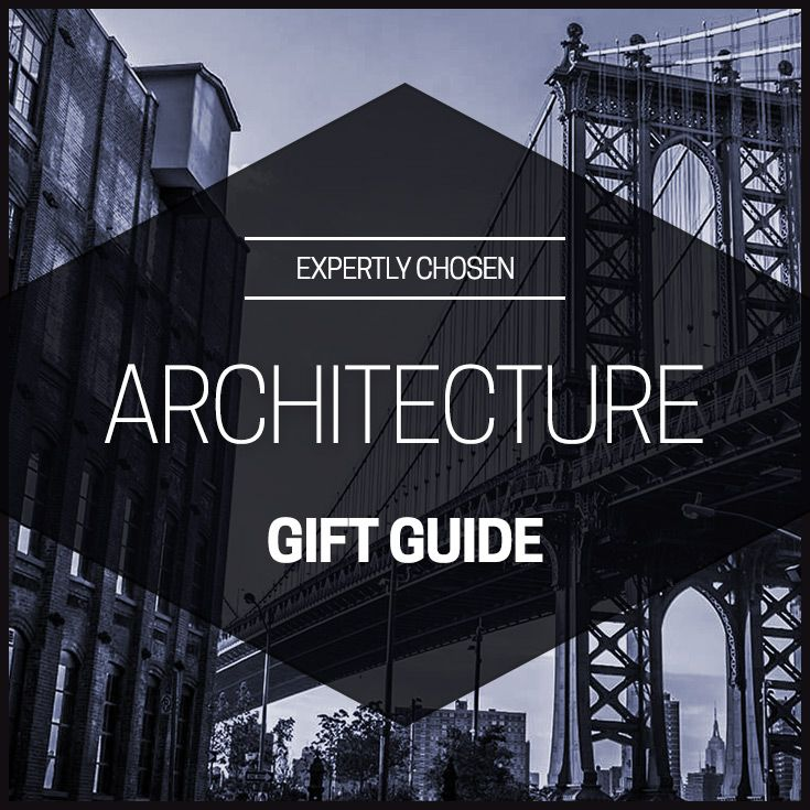 Check out our collection of gifts for anyone with a love for buildings, design and great architecture.