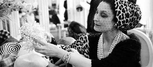 """Mitza Bricard, creatoarea pălăriilor Dior si muza parfumului """"Mitzah"""" creat de Dior"""