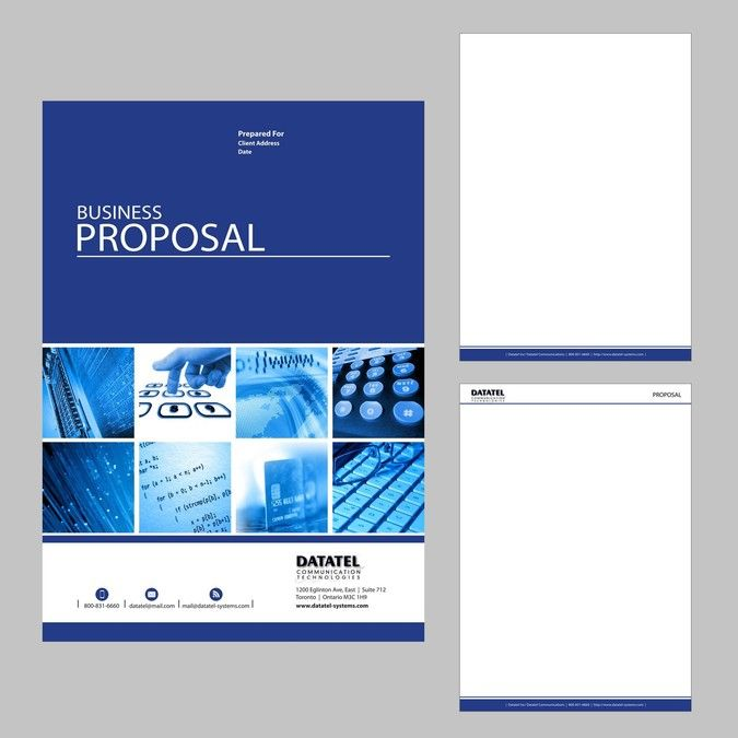 graphic design business proposal pdf