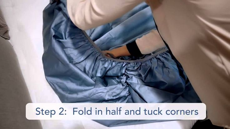 Folding a fitted bed sheet can be a challenging and aggravating process, unless done correctly. In this video, Sleep Number demonstrates the correct way to m...
