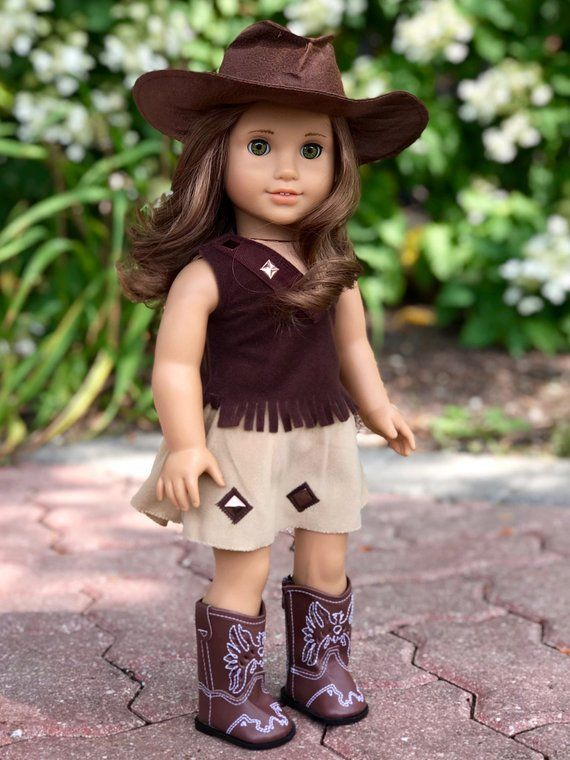 cdf00eff62c7e Cowgirl Clothes for 18 inch American Girl Doll 4 Piece | Etsy ...