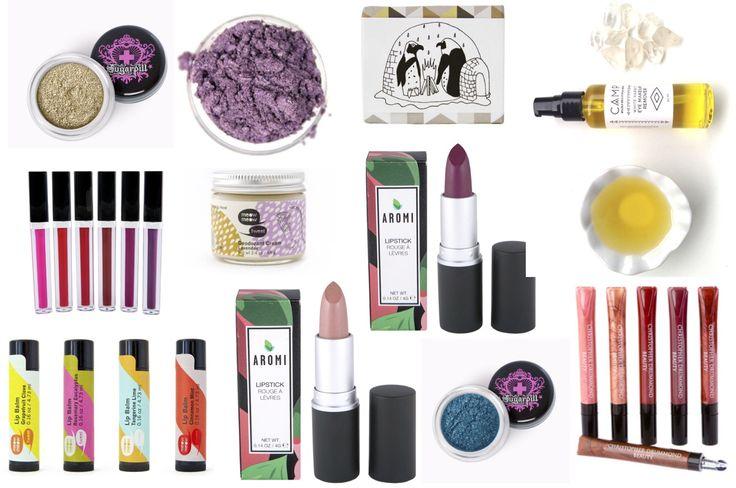 10 Vegan Beauty Gifts Under $20 #Sugarpill #MeowMeowTweet #AromiBeauty #CAMPSkincare