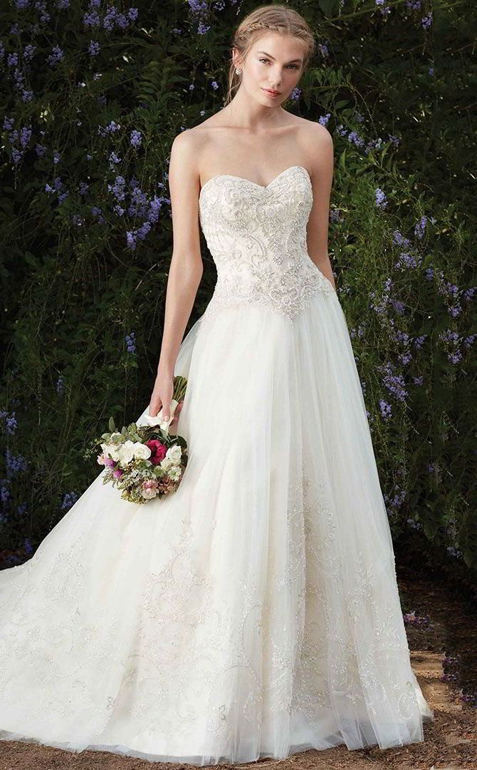 74 best bridal gowns contemporary images on pinterest for How much are casablanca wedding dresses