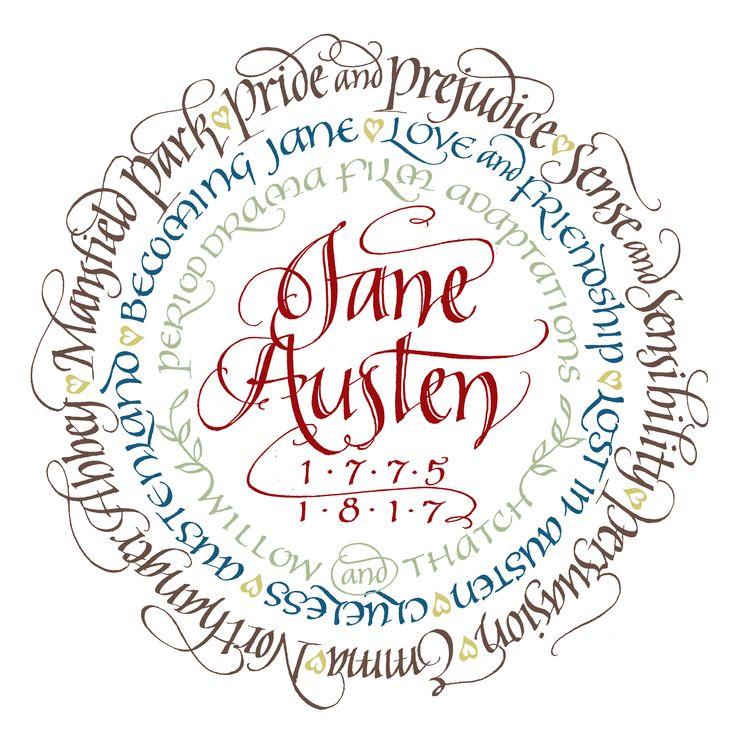 Jane Austen Period Drama Adaptations merchandise - copyright Willow and Thatch
