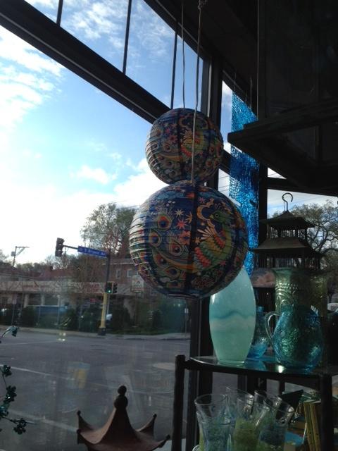 Paper lantern  Patina store in Minneapolis