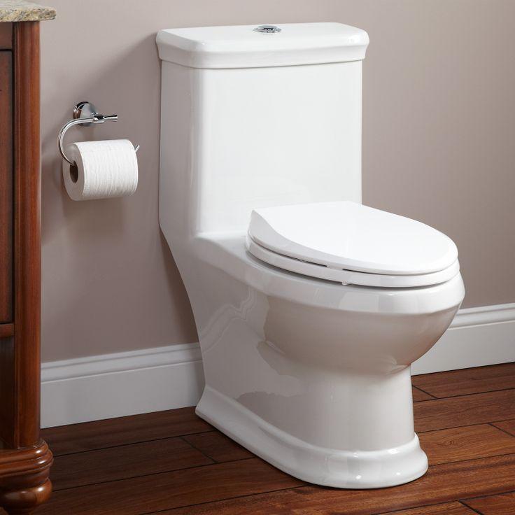 Skyla Dual Flush OnePiece Elongated Siphonic Toilet