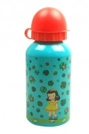 Froy en Dind drinkbottle girl with flowers