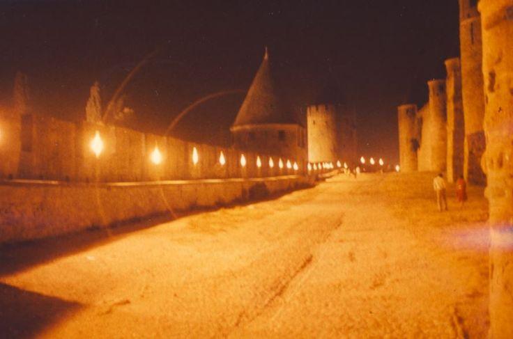 auf der Burg in Carcasonne, Foto: S. Hopp