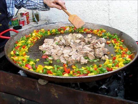 Recette Paella / Paella ingredientes/receta de paella - YouTube