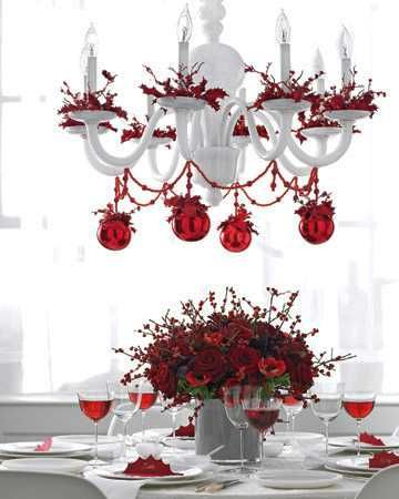15 christmas decorating ideas for pendant lights and
