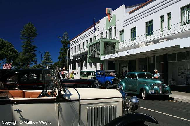 Suddenly it was 1940...Napier, New Zealand, Art Deco Weekend 2014. It was 33 degrees C in the sun that day.