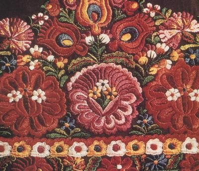 Matyo-hungarian embroidery