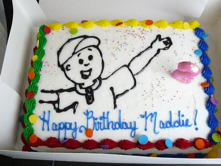 25 bsta Caillou cake iderna p Pinterest Frost