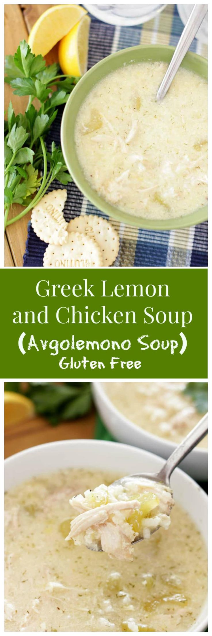 Greek Lemon Soup (Avgolemono Soup) | Recipes Worth Repeating | Incredibly tasty and flavorful, this Greek Lemon and Chicken Soup is perfect for cozying up with during the cold winter days!