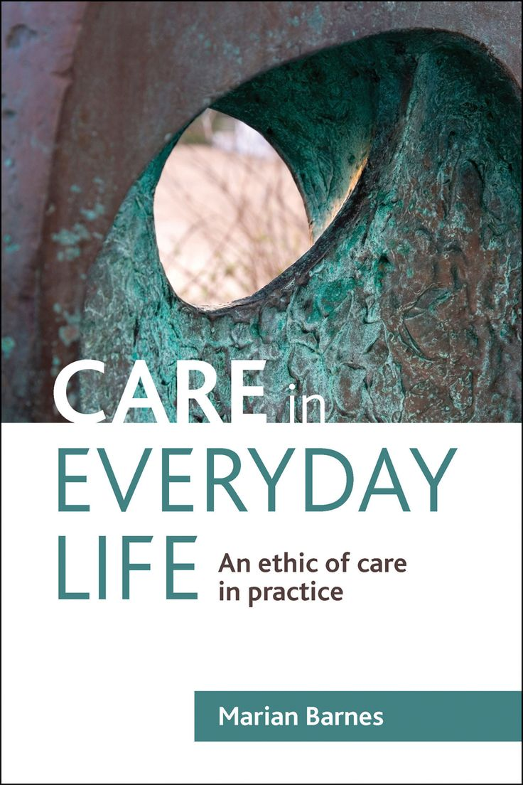 Barnes M. Care in everyday life: an ethic of care in practice. Bristol: Policy, 2012. https://cataleg.ub.edu/search~S1*cat/?searchtype=t&searcharg=Care+in+everyday+life%3A+an+ethic+of+care+in+practice&searchscope=1&sortdropdown=-&SORT=A&extended=0&SUBMIT=Cerca&searchlimits=&searchorigarg=.b2048250