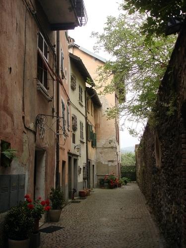 Omaggio alla Liguria - Sassello ( Sv ) - Vicolo del borgo