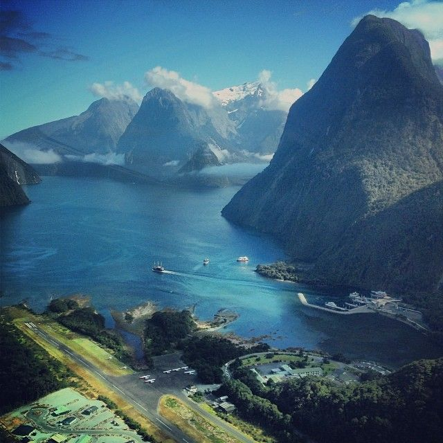 Milford Sound Airport in Milford Sound, Southland